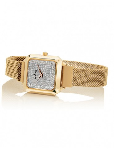 OROLOGIO HOOPS  CARRE' GOLD...